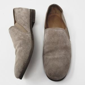 《Franco Sarto》Suede Leather Loafers Oxfords Sz 9